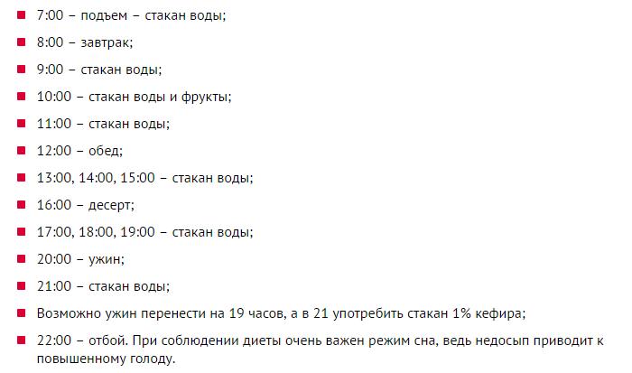 Меню Диеты Елены Малышевой В Домашних.