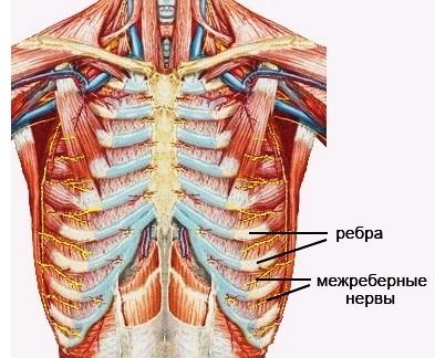 Межреберная невралгия справа симптомы и лечение