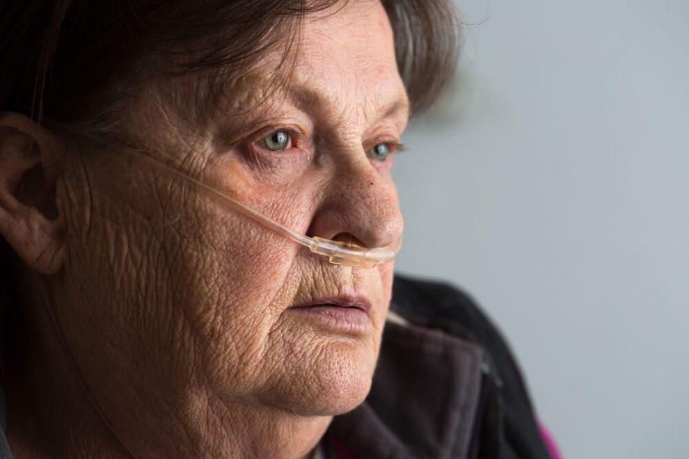Эмфизема легких у пожилых людей