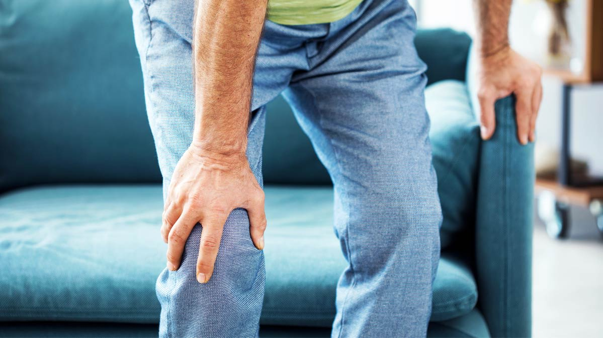 Боль в коленях причины лечение