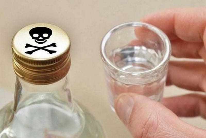 Отравление парами алкоголя