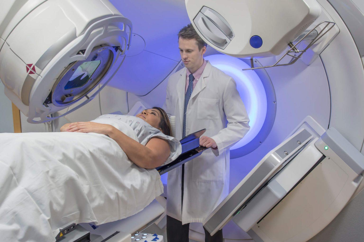 Лучевая терапия рака груди